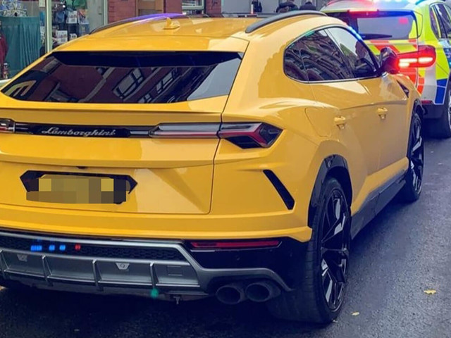 Uninsured Lamborghini Urus Driver Acts Like A Tool, SUV Gets Seized By The Police
