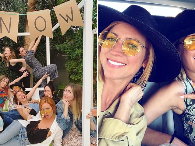 Brittany Snow's Bachelorette Party Was Basically a Big Pitch Perfect Reunion