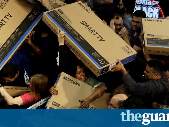 Bargain hunters: Black Friday around the world – in pictures