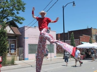 Waterloo Arts Fest fills Collinwood streets with music, shopping and family fun