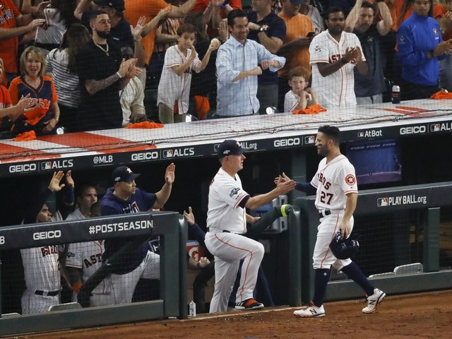 Astros win ALCS on Jose Altuve's home run, will play Nationals in World Series