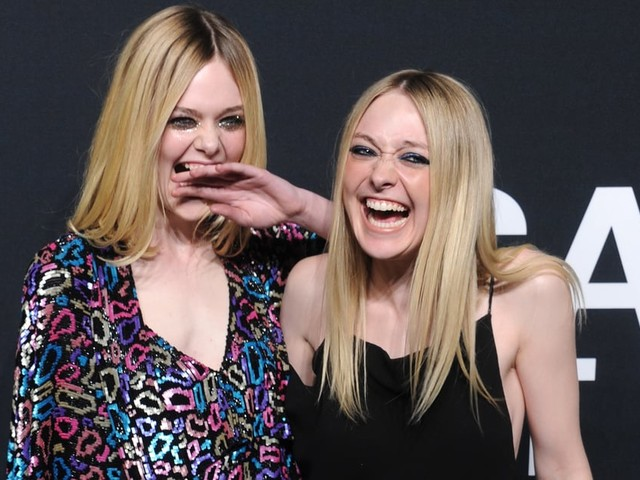 Cutest Celeb Sisters, You Say? It Must Be Dakota and Elle Fanning!