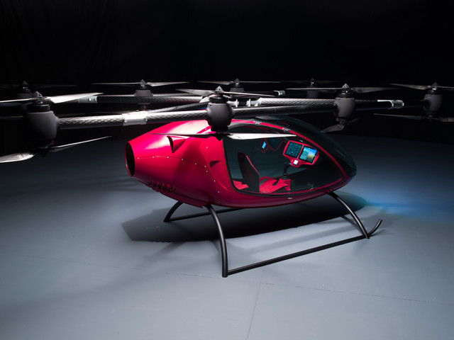 This passenger drone is real, and it's already carrying people