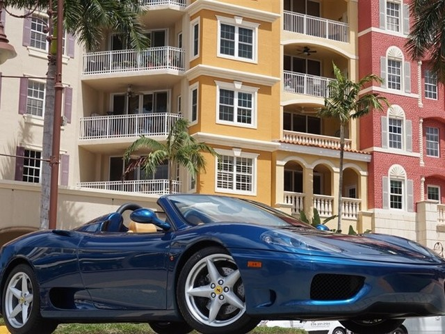2002 Ferrari 360--Spider