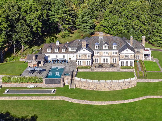 New York Exodus Sparks Buying Frenzy For Greenwich Mansions