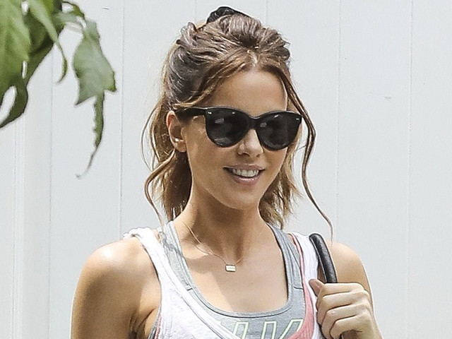 Kate Beckinsale Is All Smiles While Stepping Out Sans Matt Rife