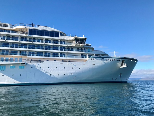 How fast is the internet on a Crystal Cruises ship? We put it to the test