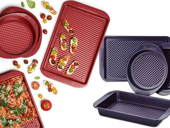 Farberware Colorvive 4-Piece Bakeware Set ONLY $19.99 at Macy's (Regularly $47)