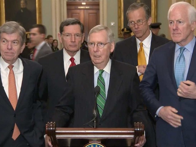 McConnell blames Democrats for holding up immigration debate