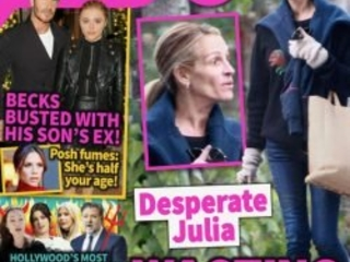 Julia Roberts 'Wasting Away' As Marriage Hangs By A Thread?