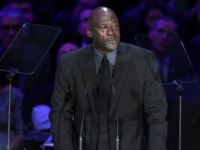 Michael Jordan Eulogizes Kobe Bryant During Memorial: 'I'll Have to Look at Another Crying Meme'