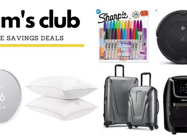 Sam's Club Online Savings Deals   Ends Today!