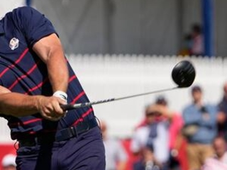 The Latest: U.S. takes 6-2 lead after Day 1 at Ryder Cup
