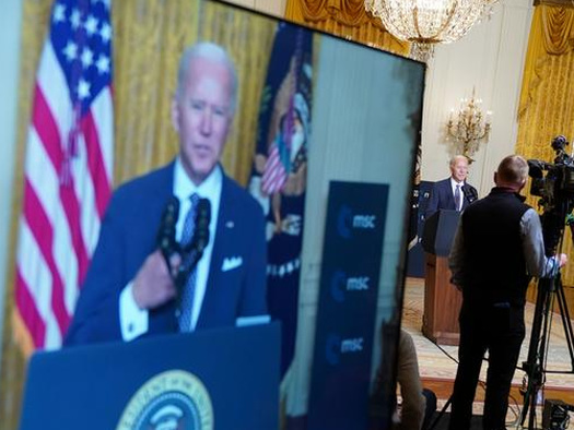"""""""The Trans-Atlantic Alliance Is Back"""": Biden Vows To Defend """"Democratic Progress"""" In 1st Address To Global Audience"""