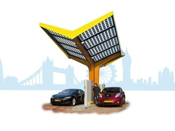 London Flies Into EV Fast Charging Scheme