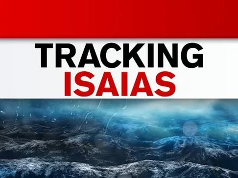 Isaias Expected To Intensify Monday, Then Move Up East Coast