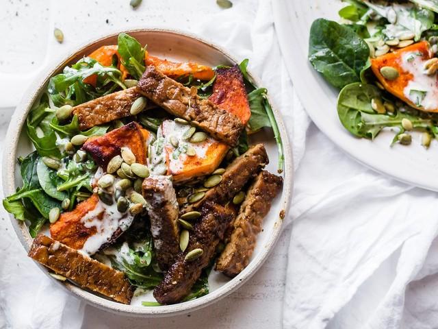 New low-carb vegan guide + meal plan