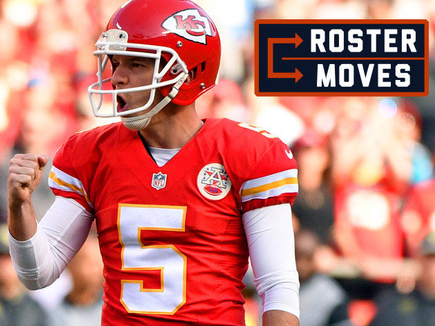 Roster Moves: Santos replaces Barth as Bears kicker