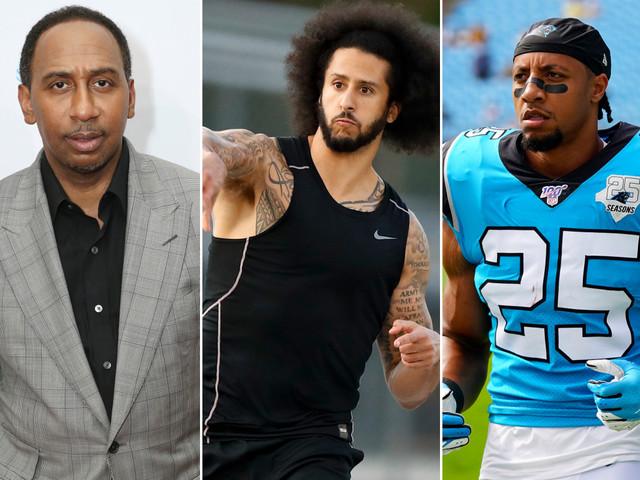 ESPN's Stephen A. Smith, Eric Reid feud over Colin Kaepernick workout
