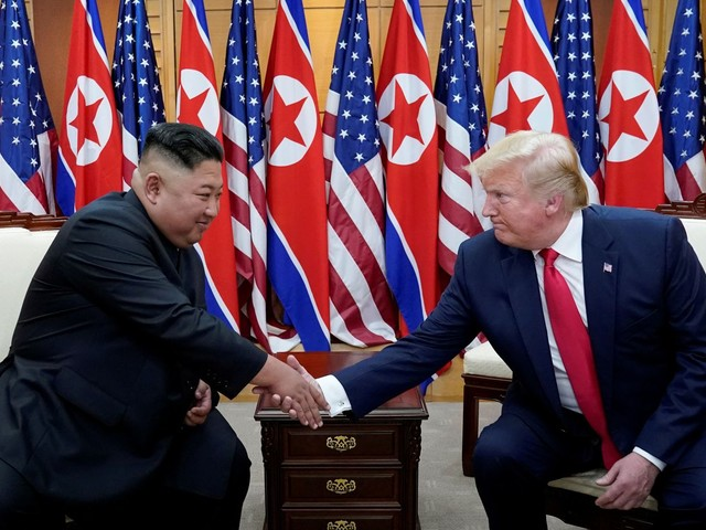 Trump's moves to salvage North Korea nuclear talks amid threats from Pyongyang draw rebukes from Bolton and Biden