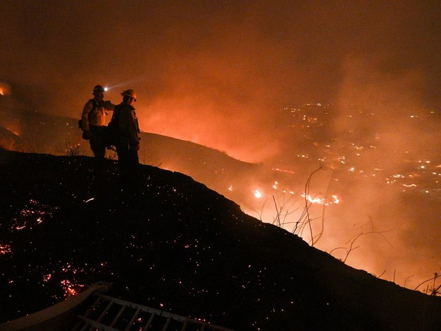 California Braces For More Fire Danger From Fierce Winds; PG&E Restores Power To 156k Customers