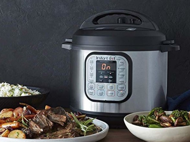 This mini Instant Pot costs under $60 on Amazon and is perfect for small spaces