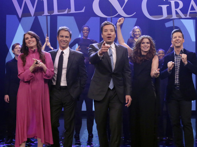 Will & Grace final season promo reveals Grace is pregnant