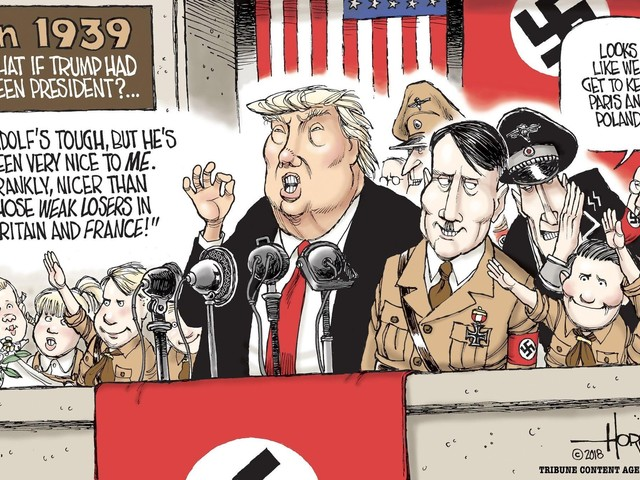 If Trump had been president in 1939