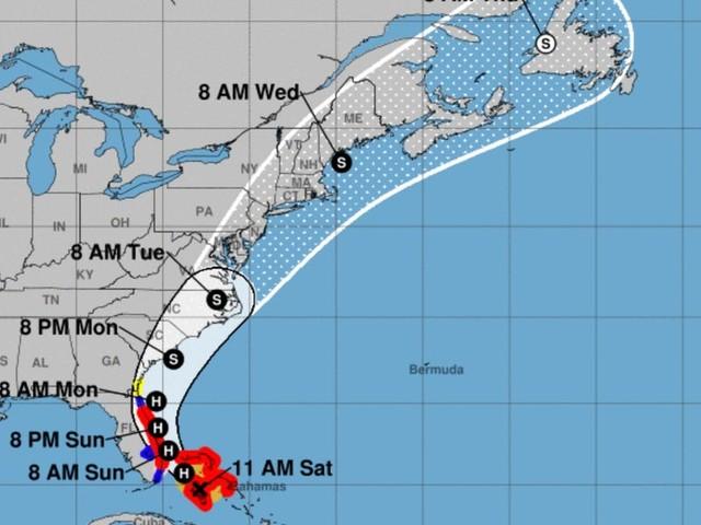Florida, Virginia, and North Carolina declare emergencies as Hurricane Isaias hits the Bahamas and barrels toward the east coast