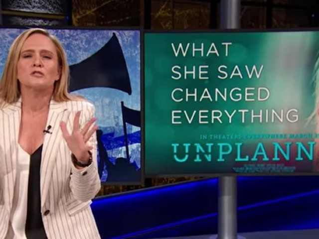 Feminist comedian Samantha Bee calls pro-life 'Unplanned' movie 'made up' propaganda, edits trailer for her narrative on Planned Parenthood