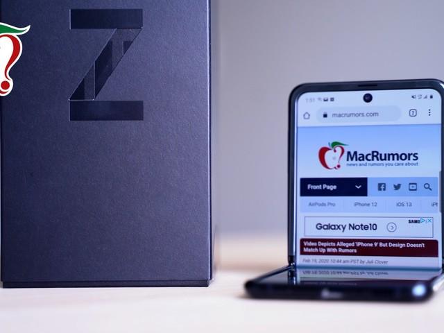 Testing Samsung's New $1,380 Galaxy Z Flip Foldable Smartphone