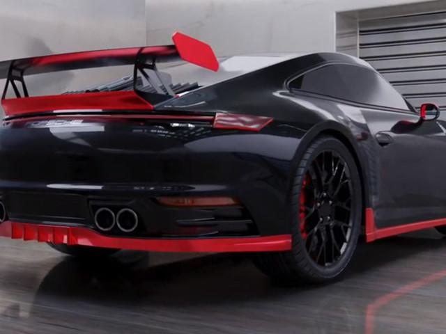 DMC Thinks The 2020 Porsche 911 Carrera Needs A Makeup Session (And Red Lipstick)