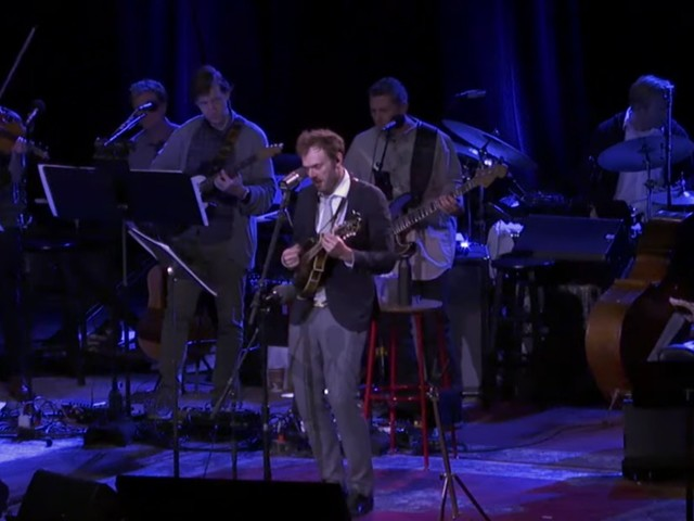 Chris Thile & Live From Here Band Cover Vampire Weekend