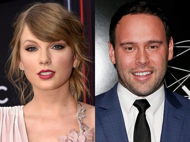"Scooter Braun Congratulates Taylor Swift on ""Brilliant"" Album Lover"