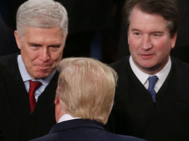 Justice Kavanaugh accused of helping Trump 'steal the election' after SCOTUS rejects Wisconsin mail-in ballot extension
