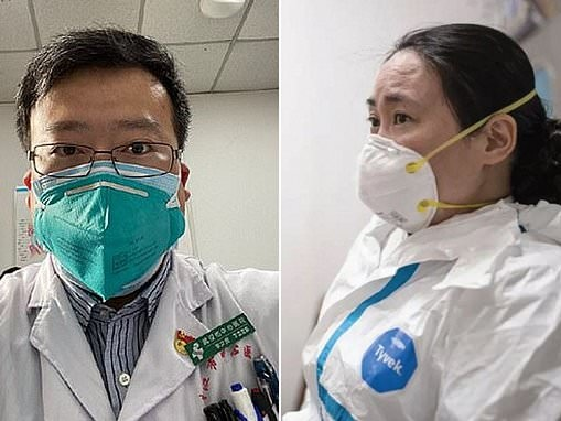 China names coronavirus whistle-blower medic a 'martyr' after his source 'went missing'
