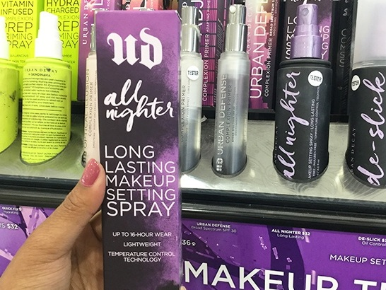 Urban Decay All Nighter Setting Spray for JUST $16.15 + FREE Shipping (Regularly $33)