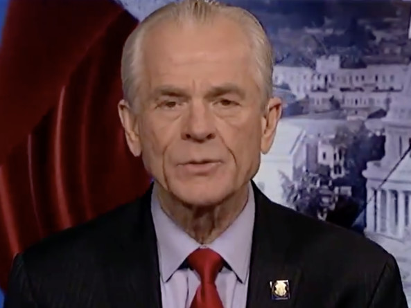 """Navarro Doubles Down On Trade Deal Report Denial, Says """"Only Trump"""" Can Remove Tariff"""