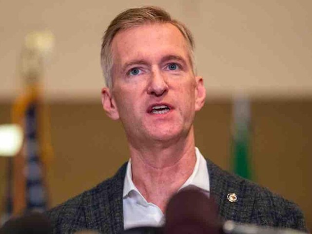 Far-left Portland Mayor Ted Wheeler is asked why 'white supremacists' share blame with 'anarchists' for city violence, destruction. His reply is a doozy.
