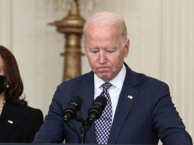 Biden denies reality, won't commit to using US troops to extract Americans from Kabul despite Taliban beating US citizens