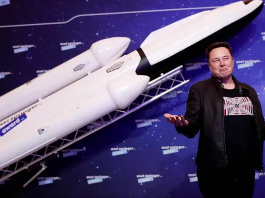 """SpaceX Wins $2.9 Billion Contract To Return To Moon On Same Day Musk's Favorite Crypto Also """"Moons"""""""