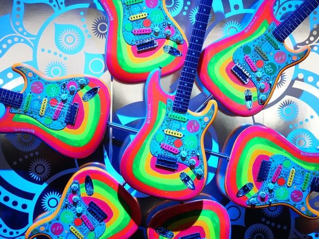 NAMM 2020 - look at those cool guitars!