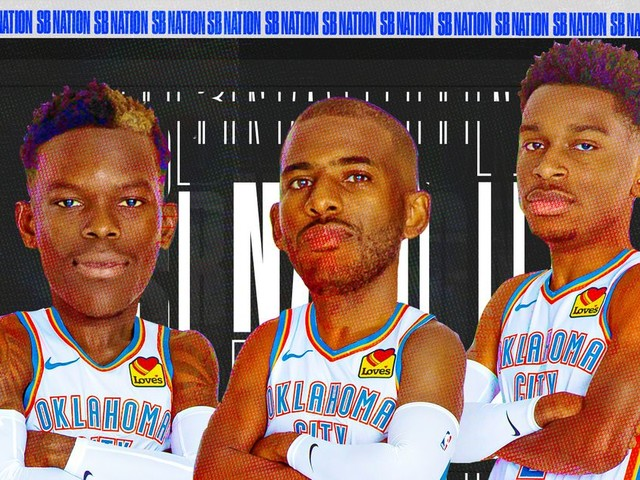 Nobody can stop the Thunder's three-guard lineup