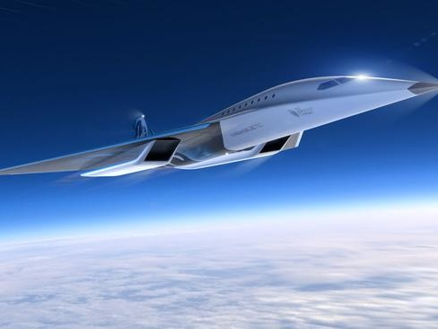 Virgin Galactic Unveils Concept Images Of Supersonic Commercial Jet