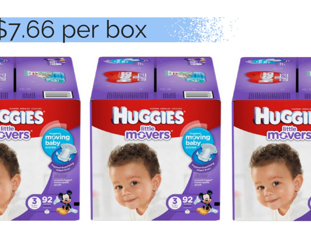 Huggies Coupon! Boxed Diapers For $7.66