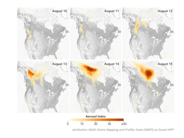 Spotlight on green news & views: Global warming spurs Canada fires; WSJ claims coal is returning