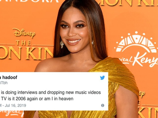 Beyoncé's Rare TV Interview About The Lion King Has the Beyhive Shaking in Their Honeycombs
