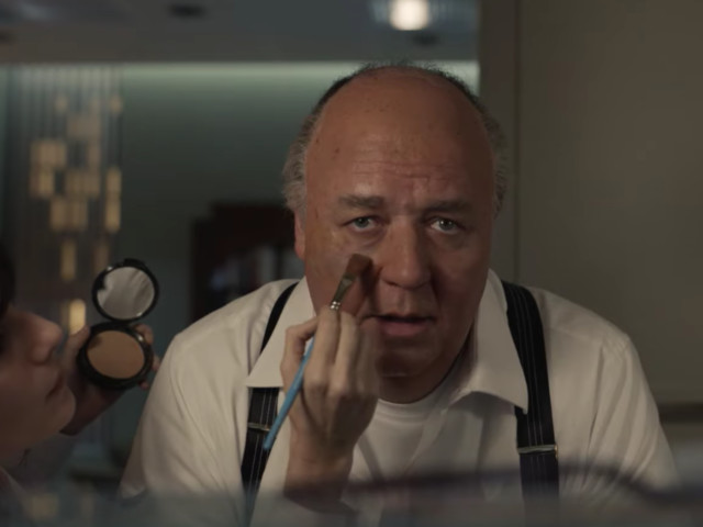 Behold Russell Crowe's disturbing Roger Ailes in first teaser for Showtime's The Loudest Voice