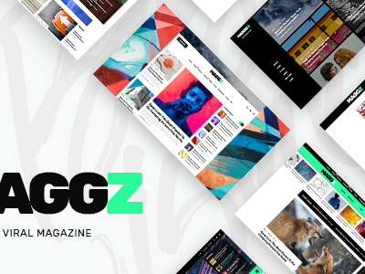 Maggz - A Creative Viral Magazine and Blog Theme (News / Editorial)