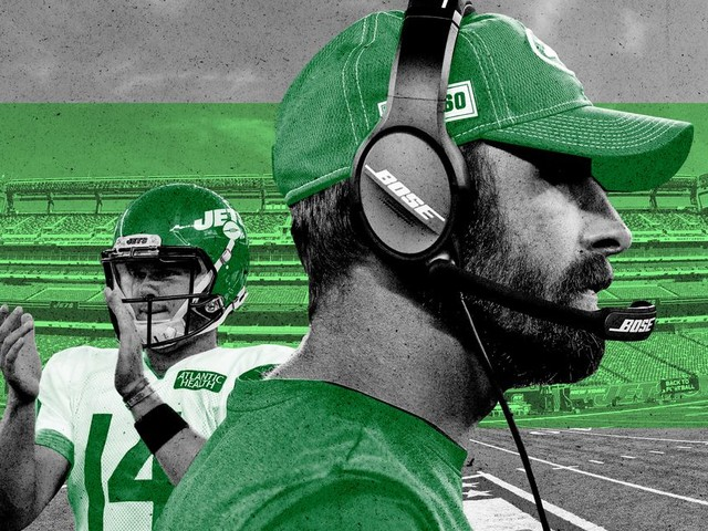 Adam Gase Is Armed With a QB of the Future. He's Also Carrying the Weight of the Jets' Past.
